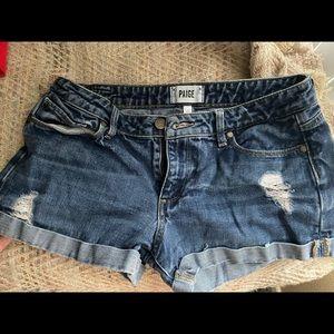 Paige Size 27 denim shorts